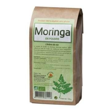 Poudre de Moringa BIO - 150 g - Nature et Partage