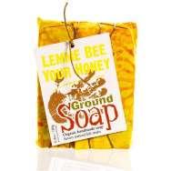 Savon à froid Lemme Bee (Miel, Avoine et Citron) de chez Ground Soap