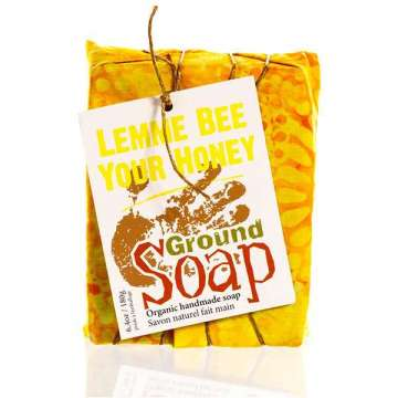 Savon à froid Lemme Bee (Miel, Avoine et Citron) Ground Soap