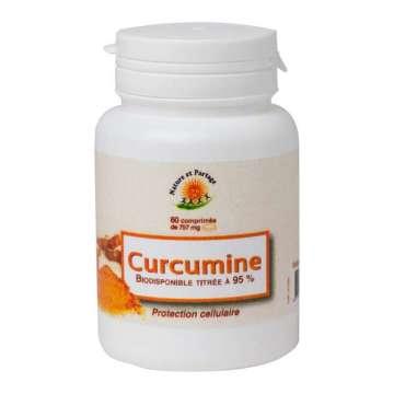 Curcumine 60 comprimés Nature et Partage