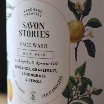Nettoyant Visage liquide - Peau Grasse à Mixte - Neroli et Citronnelle - Face Wash Oily Skin - SAVON STORIES
