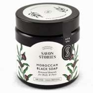 Savon (à froid) noir du Maroc - Maroccan Black Soap - SAVON STORIES - ECOSPA COLLECTION