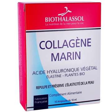 Collagène Marin – Acide Hyaluronique – Plantes Bio – Biothalassol