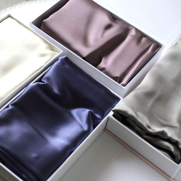 taie d 39 oreiller beaut en soie format rectangle beaut. Black Bedroom Furniture Sets. Home Design Ideas
