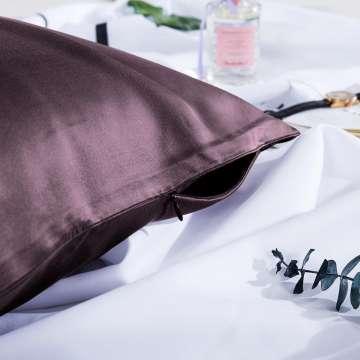 Taie d'oreiller beauté en soie (format carré)