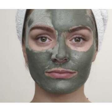 Masque révélateur de teint à l'argile verte (tube)