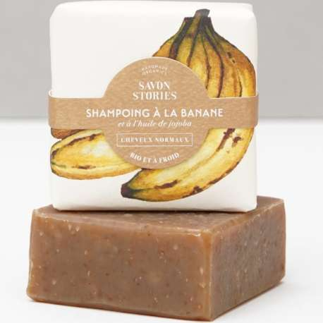 Shampoing solide tous cheveux - Shampoo bar all hair - SAVON STORIES
