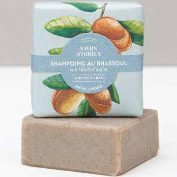 Shampoing solide cheveux fatigués et gras - Shampoo bar limp/oily hair - SAVON STORIES