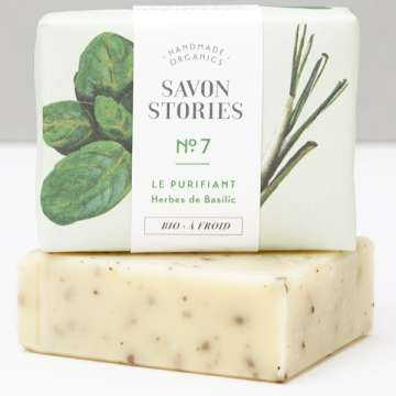 LE PURIFIANT Savon à froid Basilic SAVON STORIES