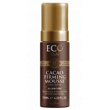 Mousse Autobronzante et Raffermissante Express Au Cacao - 125 Ml - ECO BY SONYA -200 Ml