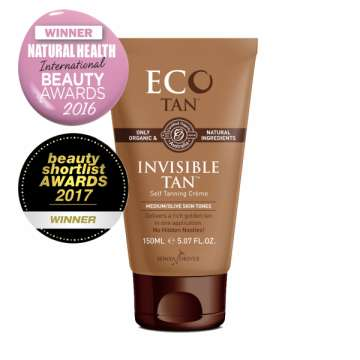 Fluide Autobronzant - Invisible Tan (Peaux Médium) - ECO BY SONYA - ECOTAN -150 Ml