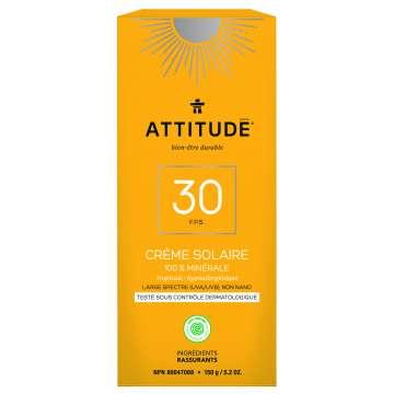 Crème solaire SPF30 Tropical ATTITUDES 150g