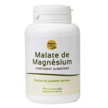 Malate de magnésium 120 comprimés Nature et Partage
