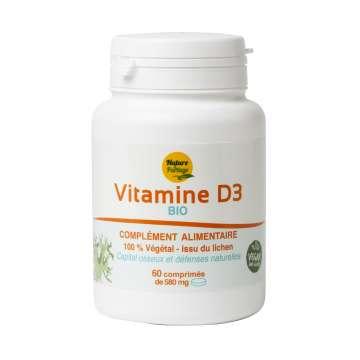 Vitamine D3 bio – Nature et Partage - 60 comprimés