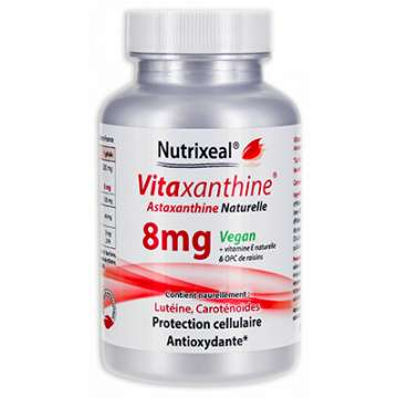 Astaxanthine 8 mg Nutrixeal 30 gélules
