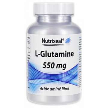 L-Glutamine 550 mg Nutrixeal 60 gélules