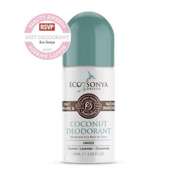Déodorant Roll-On Noix de Coco - ECO BY SONYA - ECOTAN -