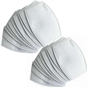 Filtres pour Masque Protection Soie
