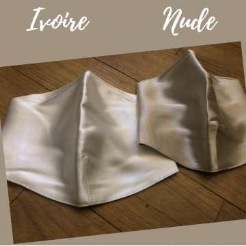 Masque de protection acné en Soie