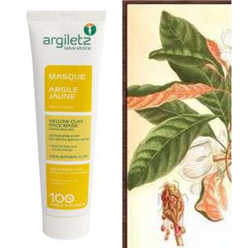 Masque rééquilibrant Argile Jaune 100 ml