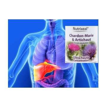 Silymarine Nutrixeal (Chardon-Marie/Artichaut) 60 gélules