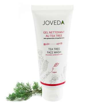 Gel Nettoyant au Tea Tree Joveda 120 ml