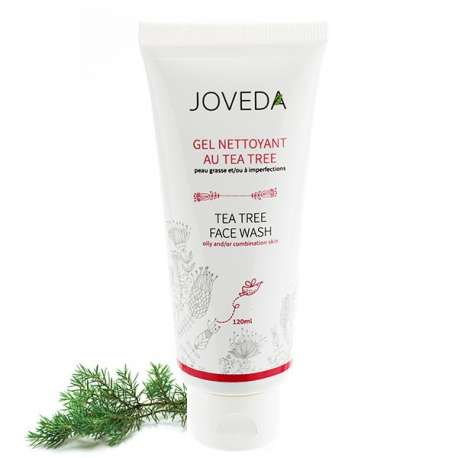 Gel Nettoyant au Tea Tree Joveda 120 ml