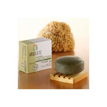 Savon Cellulite Exfoliant Algues Argile verte Argiletz 100g