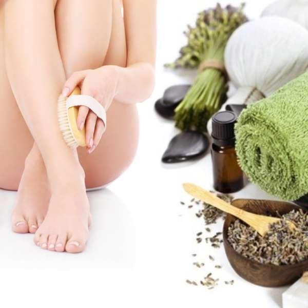 brosse de massage sec wellfit. Black Bedroom Furniture Sets. Home Design Ideas